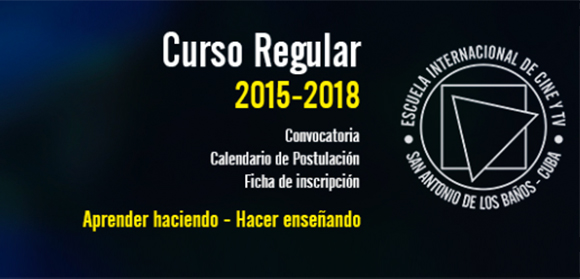 Escola Internacional de Cinema de TV de Cuba (EICTV) está com processo seletivo aberto!
