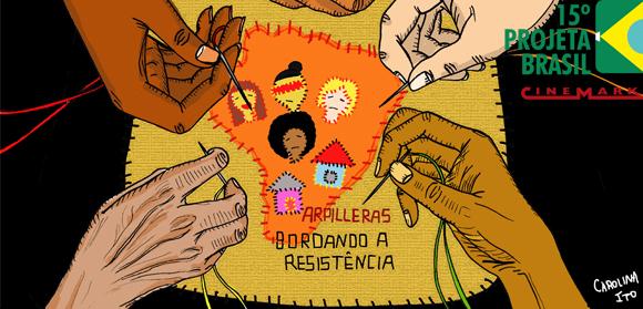 O retrato de um Brasil por meio da costura: nas arpilleras e na tela do cinema