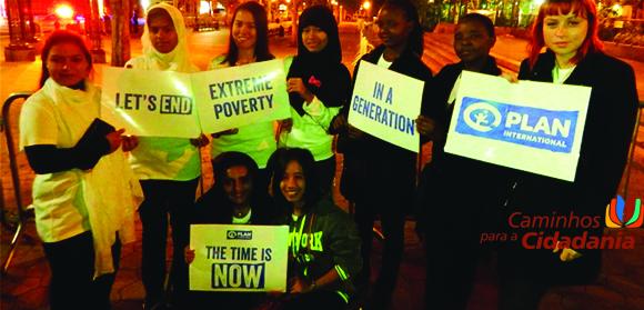 """Projeto """"This is my time!"""" chama atenção dos líderes mundiais para os direitos das meninas"""
