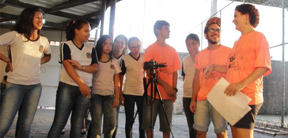 Alunos concorrem ao prêmio Voto Popular do projeto Querô na Escola